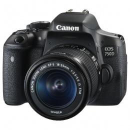 Canon EOS 750D + 18-55