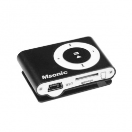 MSONIC MP3 player crni