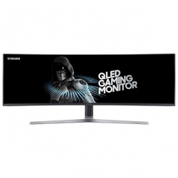 Samsung LC49HG90DMUXEN 49 QLED Curved UltraWide Gaming Monitor