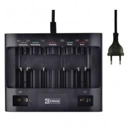 Emos punjač baterija sa USB portom UNI6 - N9168S