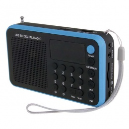 Emos radio, MP3 player 1505W plavi