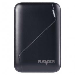 Raver power bank B0511 6600mAh crni