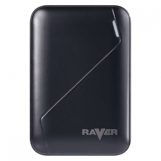 Raver powerbank Lion 6, 6.600mAh crni