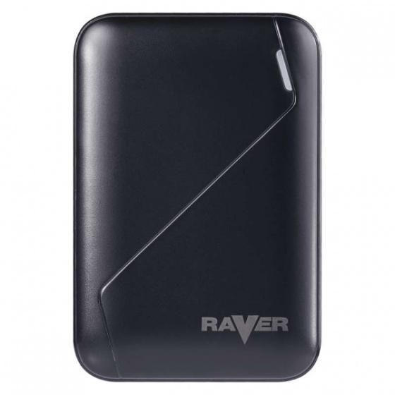 Raver powerbank Lion 6, 6.600mAh crni