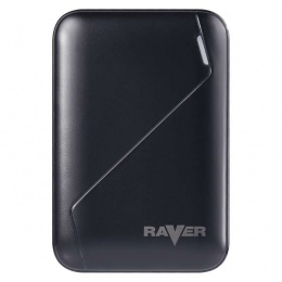 Raver power bank B0511 6600mAh crni