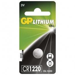 Baterija GP litijska CR1220 3V blister 1/1 B15201