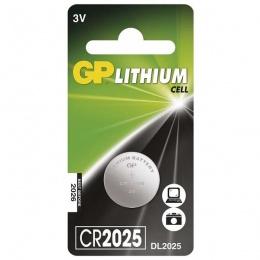 Baterija GP Litijska CR2025 3V blister 1/1 B15251