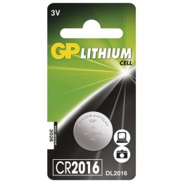 Baterija GP Litijska CR2016 3V blister 1/1 B15161