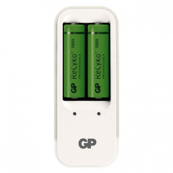 GreenPower punjač baterija sa dvije baterije AA, PB410