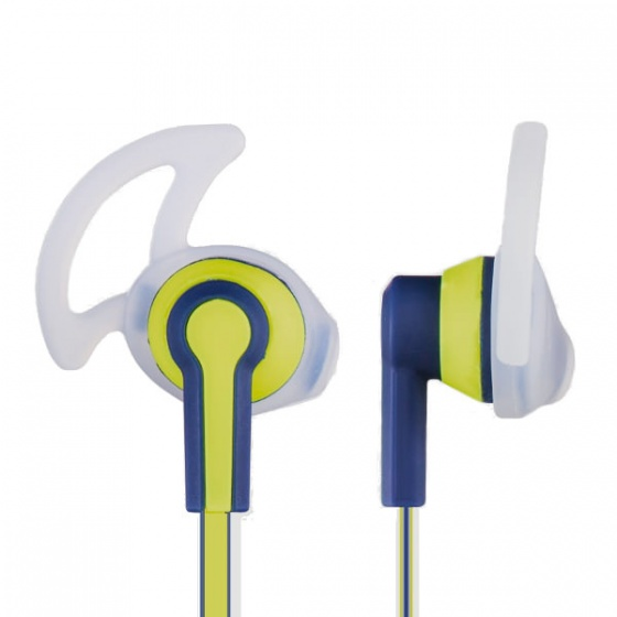 Hama Reflective Stereo slušalice, blue/yellow