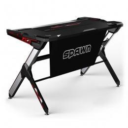 Spawn gaming stol Talason R1 srebrno/crni