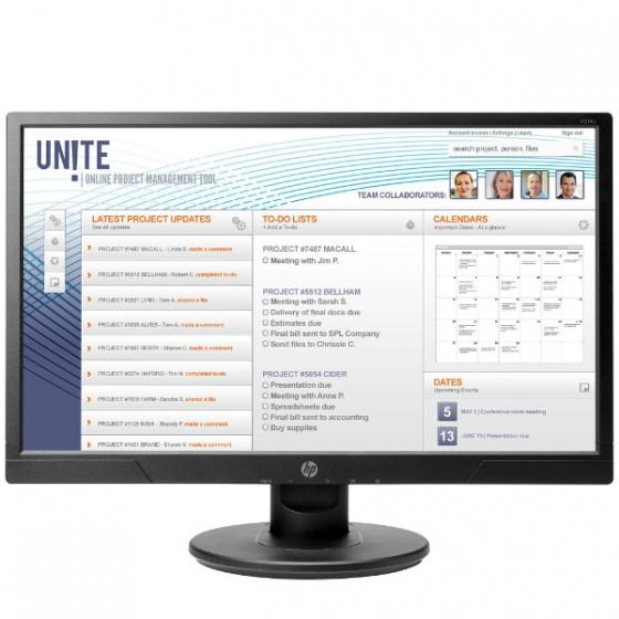 HP Monitor V214a 20,7 LED Monitor, 1FR84AA