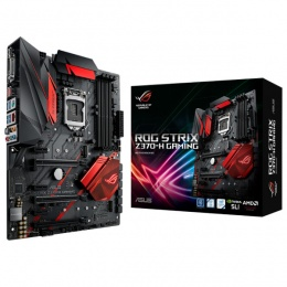 Asus MB ROG STRIX Z370-H Gaming, LGA 1151, Intel Z370