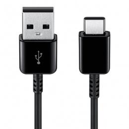 Samsung kabl 2u1 type C + micro USB 1,5m crni