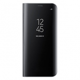 Samsung Galaxy S8 Clear View Standing Cover Black