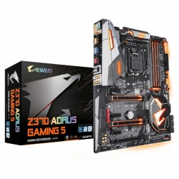 Gigabyte MB Z370 AORUS Gaming 5, LGA 1151, Intel Z370