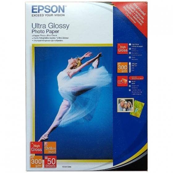 Papir foto Epson Ultra Glossy 13x18cm 300gr 50 listova