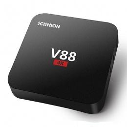 Android TV Box V88 crni