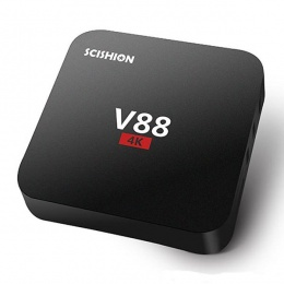 Android TV Box V88 crni