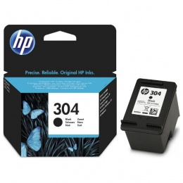 HP tinta N9K06AE (No.304) Black