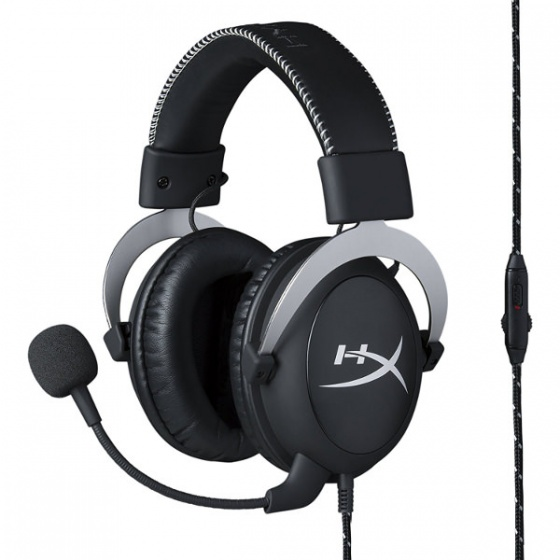 Kingston HyperX Cloud PRO Headset silver