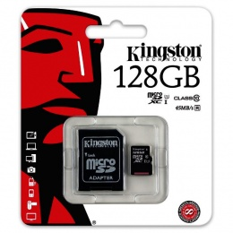 Kingston MC MicroSD 128GB Class 10 UHS-I, SDCS/128GB