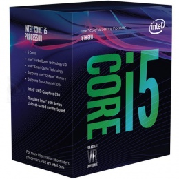 Intel Core i5 8600 3,10 GHz, LGA1151 BOX, Cofee Lake