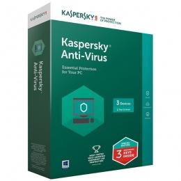 Kaspersky Antivirus 2018 3 korisnika, Retail