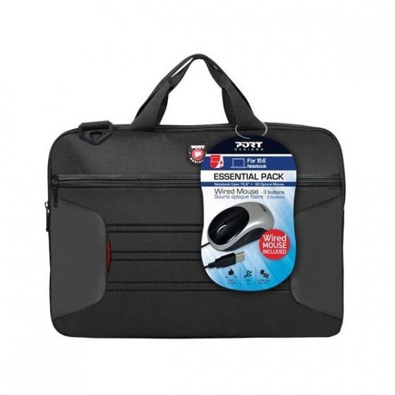 Port design Essential pack torba 15,6 +miš