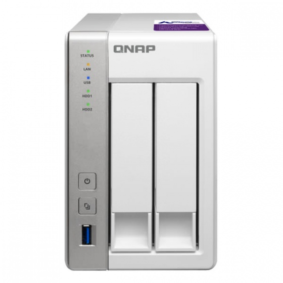 NAS storage backup rješenje QNAP 2X2TB