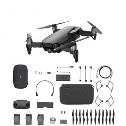 DJI Mavic AIR Fly More Combo crni