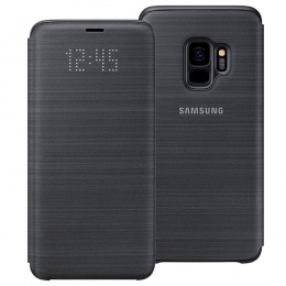 Samsung Galaxy S9 LED View Cover Black