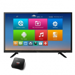 Televizor Tesla LED FullHD TV 43S317 + android box V88