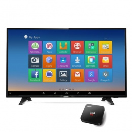 Televizor Philips LED FullHD TV 49PFS4132 + android box V88