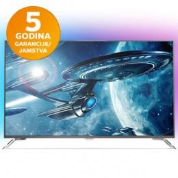 Televizor Philips LED UltraHD Android TV 49PUS7101/12 Ambilight