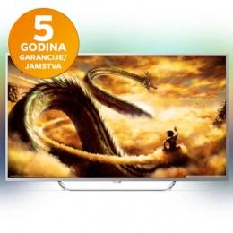 Televizor Philips LED UltraHD Android TV 65 65PUS6412/12 Ambilight