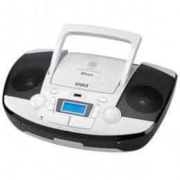 Vivax prijenosni radio CD player CD-108W Bluetooth bijeli