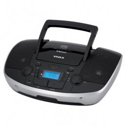 Vivax prijenosni radio CD player CD-108B Bluetooth crni