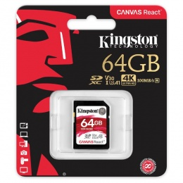 Kingston MC SDHC 64GB Class 10 UHS-I U3, SDR/64GB