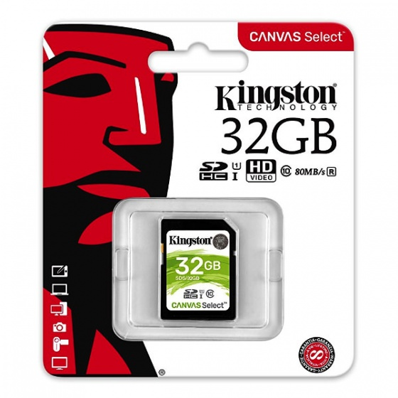 Kingston MC SDHC 32GB Class 10 UHS-I, SDS/32GB