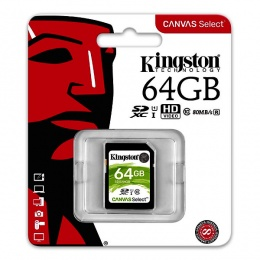 Kingston MC SDHC 64GB Class 10 UHS-I, SDS/64GB