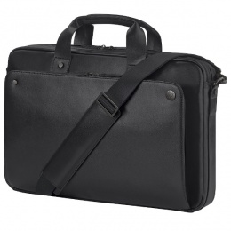 HP torba za laptop 17,3 Leather Topload, crna (P6N25AA)