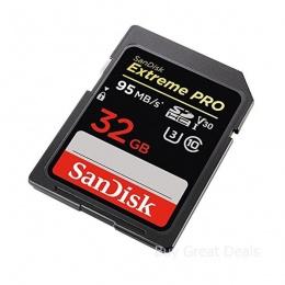 SanDisk MC SDHC 32GB Class 10 Extreme PRO 95MB/s