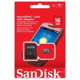 SanDisk MC MicroSD 16GB sa adapterom Mobile