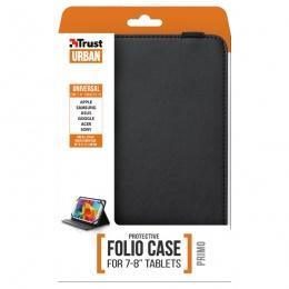 Trust futrola za tablet PRIMO FOLIO 7-8'' sa postoljem crna