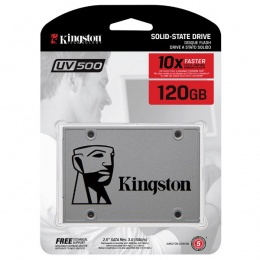 Kingston SSD UV500 120GB 3D NAND AES 256-bit, SUV500/120G