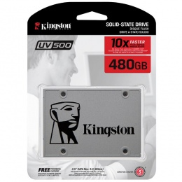 Kingston SSD UV500 480GB 3D NAND AES 256-bit, SUV500/480G