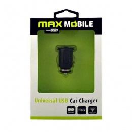 Max Mobile auto punjač USB univerzalni 1A