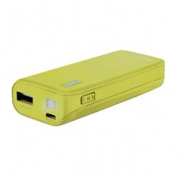 Trust power bank 4400mAh PRIMO Neon žuti