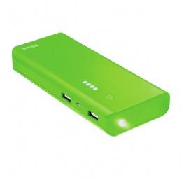 Trust power bank 10000mAh PRIMO zeleni